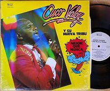 LATIN LP: CUCO VALOY Y SU NUEVA TRIBU Mejor Que Nunca TEAM 7004