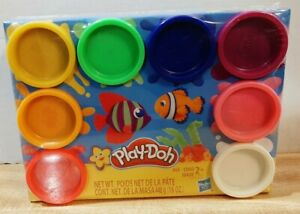 Play Doh Rainbow Pack With 8 Colors of 2 Oz Containers ~ Factory Sealed