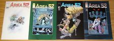 Area 52 #1-4 VF/NM complete series - area 51 - roswell crash - conspiracy story