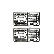 Tamiya 1:14 B-Teile Anhänger Achsen verstärkt - 300056525