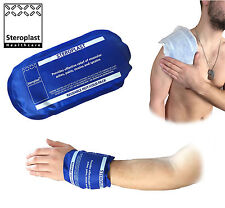STEROPLAST RE-USABLE HOT OR COLD HEAT MICROWAVABLE FREEZABLE BOILABLE ICE PACK