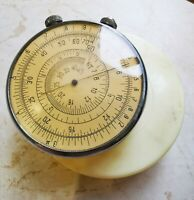 Slide Rule Circular Logarithmic ruler KL-1 USSR Calculator Mathematical instrume