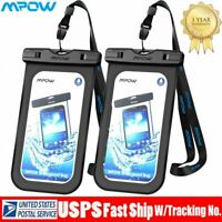 MPOW Waterproof Cell phone Bag Underwater Pouch Dry Case Phone Cover For Phone