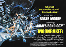 James Bond 007: Moonraker (Roger Moore) - Filmposter DIN A1