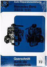 Buch Reparaturanleitung Mercedes-Benz OM-Motor 621 / 190 D 636 / 180D Bd 73