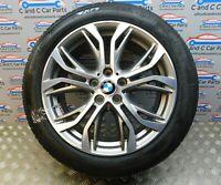 """BMW X1 X2 18"""" Wheel Style 566 7.5J Bridgestone RFT 6mm Tread F39 F48 6856067 *12"""
