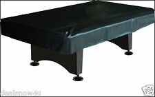 Black Real Strong Naugahyde Pool Table Cover 8 Foot Billiards Indoor Game Room
