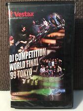 VESTAX TURNTABLIST EXTRAVAGANZA - DJ COMPETITION WORLD FINAL '99 TOKYO VHS!! NEW