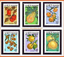 Vietnam - Fruits of North Vietnam/ Food/ Plants/ Herbals  1969 # 234 MNH