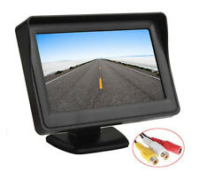 4.3 inch TFT Color LCD Screen Car Reverse Rearview Display support Auto Rear Vie