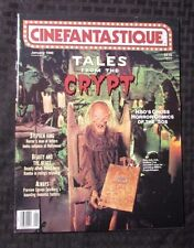 1990 CINEFANTASTIQUE Magazine v.20 #3 VF+ Tales From The Crypt