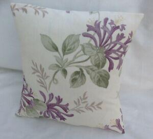 Laura Ashley Designer Cushion Cover HONEYSUCKLE TRAIL GRAPE Various Sizes