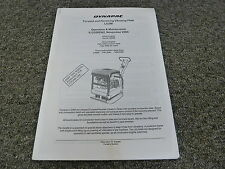 Dynapac LG200 Vibratory Plate Compactor Owner Operator Maintenance Manual Book