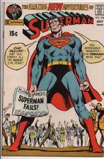 "DC COMICS Superman #240 July 1971  ""Superman Fails""  VF/NM"