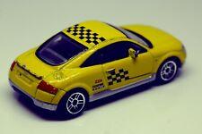 "Realtoy 3"" AUDI TT Diecast Toy Model Black Yellow RACING CLUB ZZA Confine 1/55"