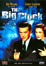 The Big Clock (1948) - Ray Milland, Maureen O'Sullivan - DVD NEW