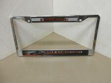 Dale Earnhardt Chrome Metal License Plate Frame 2004 Legendary Champion