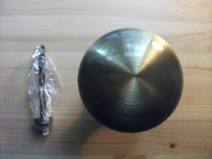 Large Centre Door Knob 100mm Florentine Bronze with 100mm Fixing Screw AC055-FB
