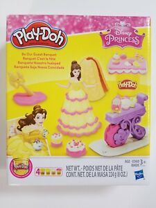 Play-Doh Be Our Guest Banquet Featuring Disney Princess BELLE  New Sealed