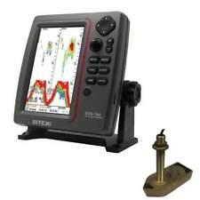 SI-TEX SVS-760 Fish Finder Kit w/Bronze Thru-Hull w/Temp #SVS-760TH1