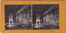 Chantilly Galerie des Ceres Photo stéréo Stereoview Vintageargentique
