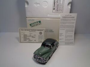 DANBURY MINT 1948 CHEVROLET FLEETLINE AEROSEDAN BNIB W/DOCS  - RASH FREE SHARP