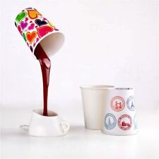 DIY Creative USB Coffee Cup Shaped LED Decorative Desk Lamp Office