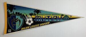 Vintage MLS Tampa Bay Mutiny 1998 Logo Soccer Felt Pennant