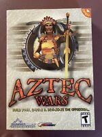 Aztec Wars (PC CD-ROM, Summitsoft, 2002) Video Computer Game ~ NEW/SEALED IN BOX