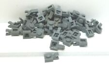 LEGO  Lot of 50 Dark Gray 1x1 Plate w holder - can combine shipping