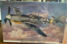 "Hasegawa 1/32 Scale Messerschmitt Bf 109G-4  ""Hartmann"" Factory Sealed NIB"