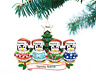 Personalized Christmas Tree Ornaments Family of 2 3 4 5 6 Ugly Sweater Ornament