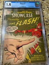 Showcase #8 (1957) CGC 1.8 Universal Grade 2nd Silver Age Flash 1st Captain Cold