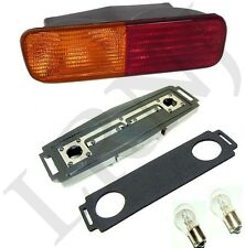 LAND ROVER DISCOVERY 2 COMPLETE REAR BUMPER LIGHT KIT RED /ORANGE LH DRIVER SIDE