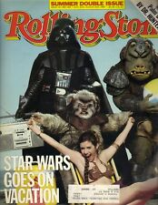 CARRIE FISHER STAR WARS Rolling Stone Magazine 7/21/83 HUNTER S THOMPSON
