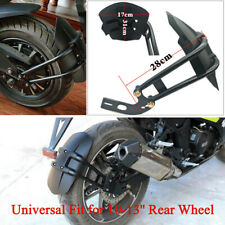 Motorcycle 10-13'' Rear Wheel Fender Mudguard Protector Frame Splash Dust Guard