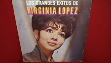 Virginia Lopez - Grandes Exitos - Rare LP Good Conditions - L6