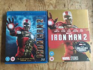 Iron Man 2 (Blu-ray) with Collectible Marvel Slip cover
