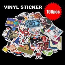 100pcs Vinyl Decal Graffiti Stickers Car Laptop Waterproof Skate Style Random AU
