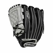 "Wilson Onyx Cat Osterman 12"" Fastpitch Softball Glove - Lh - Wta12Lf1712 - Black"