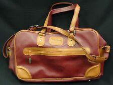 VINTAGE LARGE 70s  PIERRE CARDIN TRAVEL CARRY-ON LUGGAGE BAG