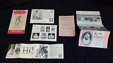 ORIGINAL Vintage Vogue Ginny Pamphlets Booklets & Walker Instructions JILL & JAN