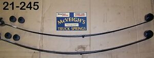 NEW REAR MONO- LEAF SPRINGS  FOR 1967-1969 CHEVY CAMARO  PART #21-245