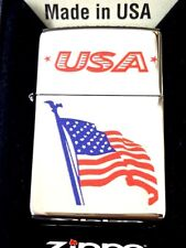 New listing Zippo 250 Flag on Pole Usa 250-72812