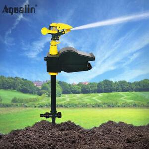 Motion Activated Sprinkler Animal Deterrent Repellent Water Spray Scarecrow Away