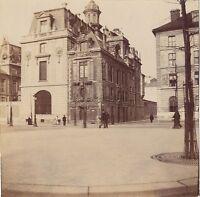 Parigi Foto Istantanea Amateur Vintage Citrato Ca 1900