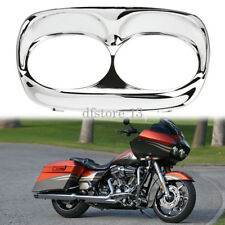 Front Headlight Bezel Scowl Outer Fairing Cover For Harley Road Glide 1998-2013