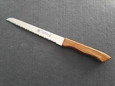 "Fuchs Solingen Brotmesser ""Super scharf"" Olivenholz Nr. 1112"