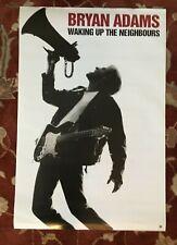 Bryan Adams Waking Up The Neighbours rare original promotional poster