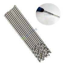 SN9F 10PCS 0.5mm Micro HSS Twist Drilling Auger bit for Electrical Drill New